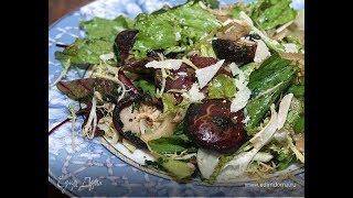 Юлия Высоцкая — Зеленый салат с лесными грибами