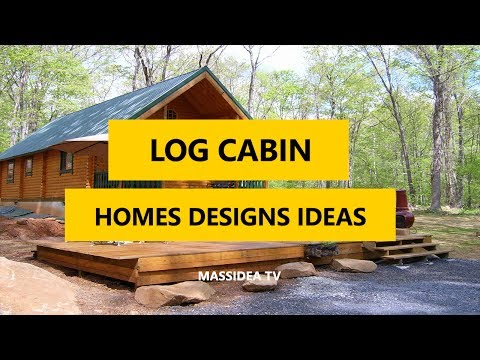 45+ Awesome Small Log Cabin Homes Designs Ideas 2017