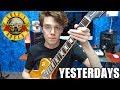 Cómo Tocar Yesterdays De Guns N' Roses En Guitarra Eléctrica y Acústica Súper Fácil!