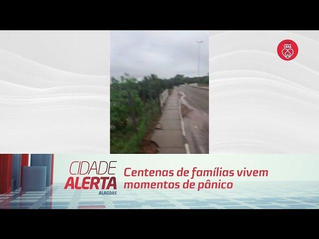 Centenas de famílias vivem momentos de pânico em Santana do Ipanema