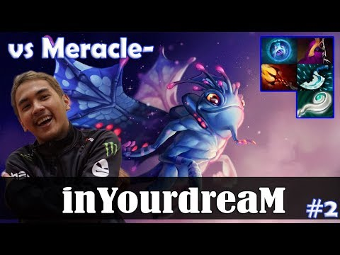 inYourdreaM - Puck MID | vs Meracle- (MK) 7.08 Update Patch | Dota 2 Pro MMR Gameplay #2