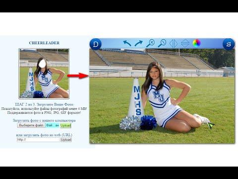 Обработка фотографий онлайн  Эффекты, рамки, замена лица