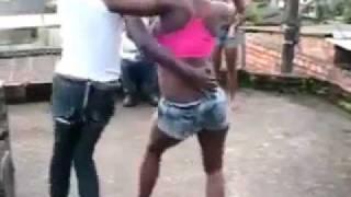 Booty bump dance