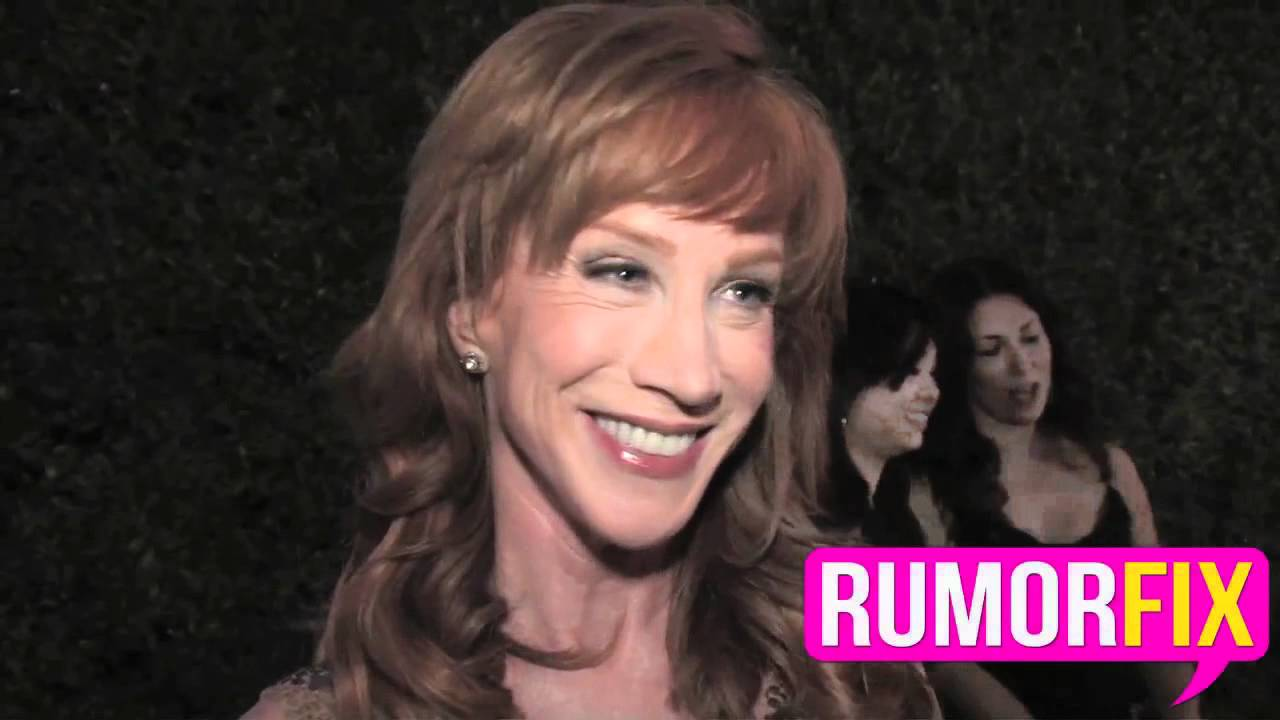Kathy Griffin On The Sarah Palin, Glen Rice Sex Rumor -2016