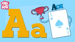 The A Song — Learn the Letters of the Alphabet