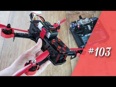 Eachine Falcon 250 meine erste Race-Drohne // deutsch // in 4K // #103