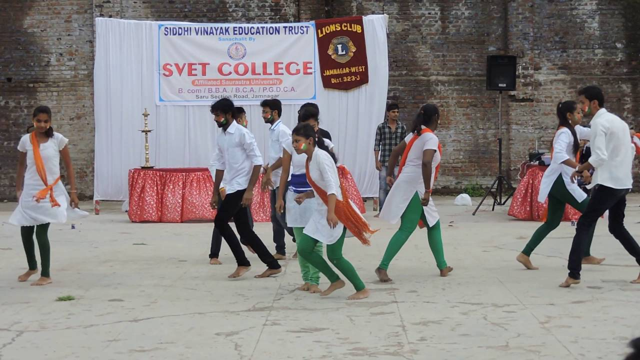 TEEJA TERA RANG THA YEH TO... Perform by S.V.E.T COLLEGE Students....