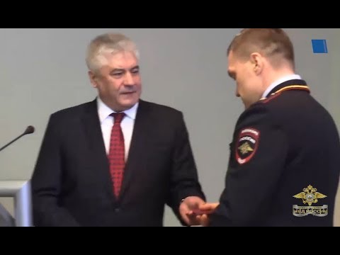 Представлен новый начальник ГУ МВД России по городу Санкт-Петербургу и Ленинградской области
