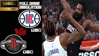 LA Clippers vs Houston Rockets - Full Game Highlights! Nov 13, 2019 NBA Season | NBA 2K20