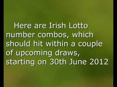 Irish Lotto Results including Plus 1, Plus 2 Raffle