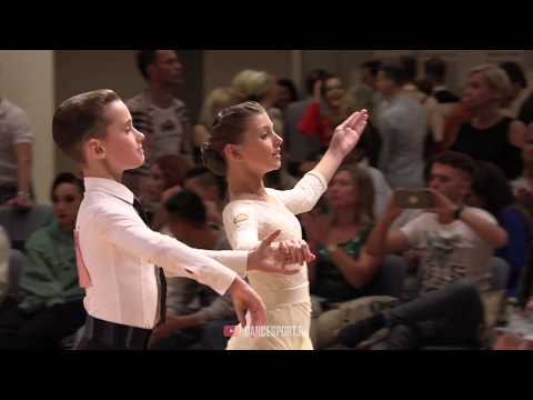Konstantin Romanov - Arina Guzenko RUS, English Waltz, German Open Championships 2019