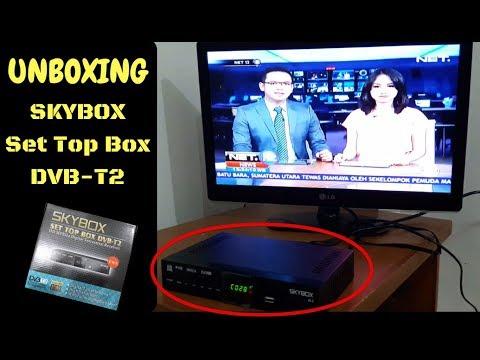[UNBOXING] Nonton TV DIGITAL Jadi MUDAH Dengan SKYBOX SET TOP BOX DVB-T2