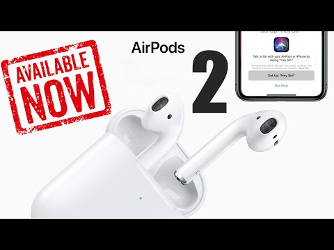 NEW AirPods 2 OUT NOW | Everything you Need to Know