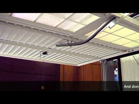 Canopy Garage Door Bow Arm Conversion Youtube
