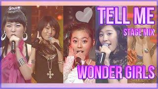 Tell me / Wonder Girls / 컴백 첫주 공중파 3사 MIX / 교차편집 / 60fps