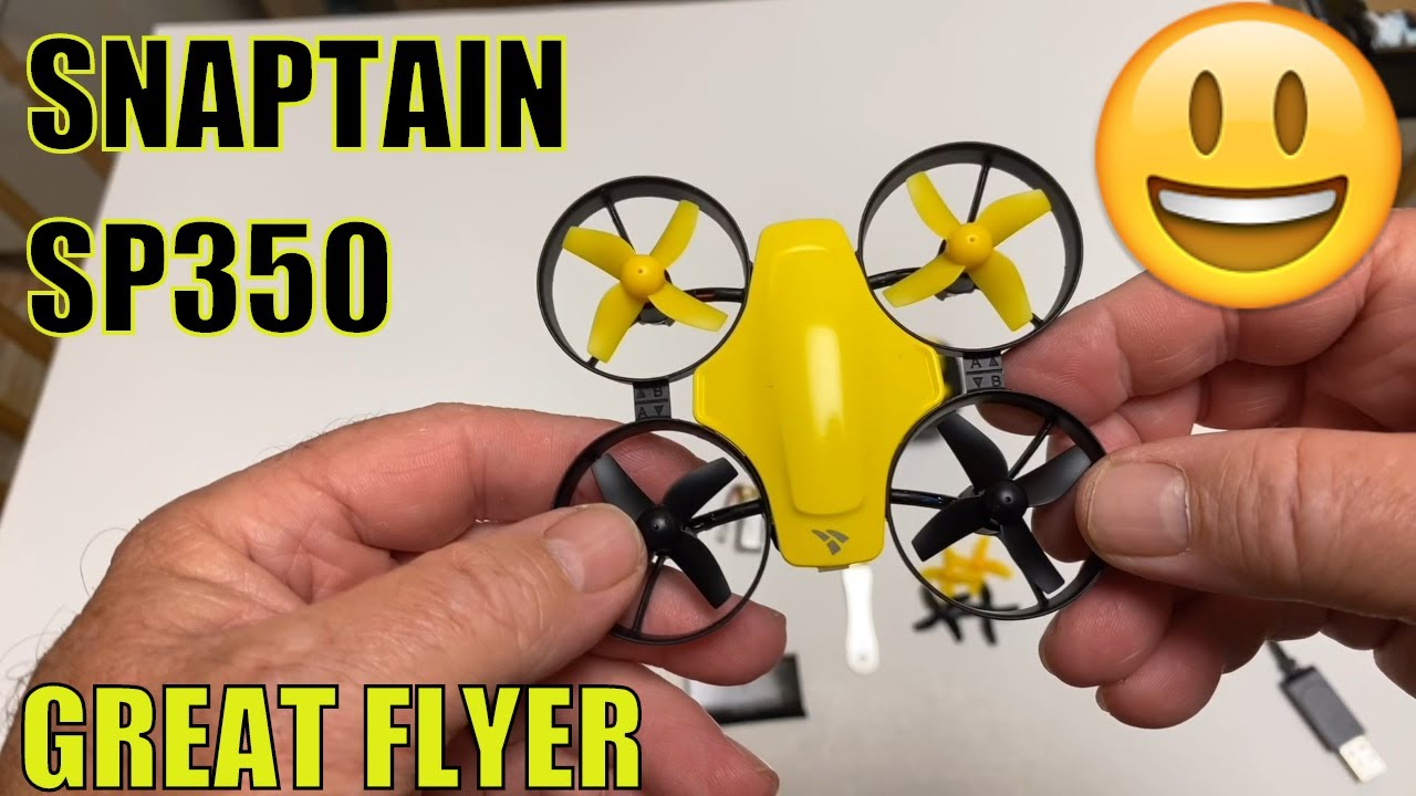 SNAPTAIN SP350 Mini Drone for Kids Beginners Flies Great 14+