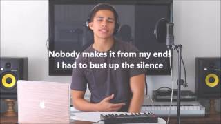 alex aiono lyric video of one dance by drake and hasta el amanecer nicky jam mashup