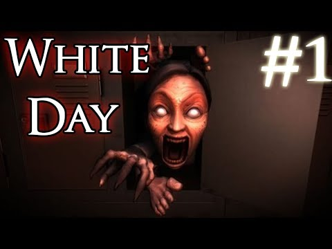 WHITE DAY - Korean Horror game | Part 1