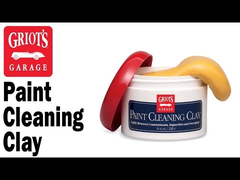 Griot's Garage - Paint Cleaning Clay and how to decontaminate your paint