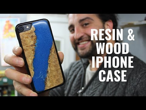 Resin and Wood Phone Case DIY