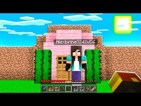 noob Girl's Minecraft Build Battle CHALLENGE..