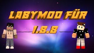 LabyMod Installation für 1.8.8 mit Optifine Deutsch