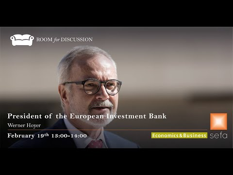 Werner Hoyer: President of the European Investment Bank