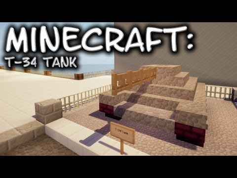Minecraft: Tank Tutorial - T-34