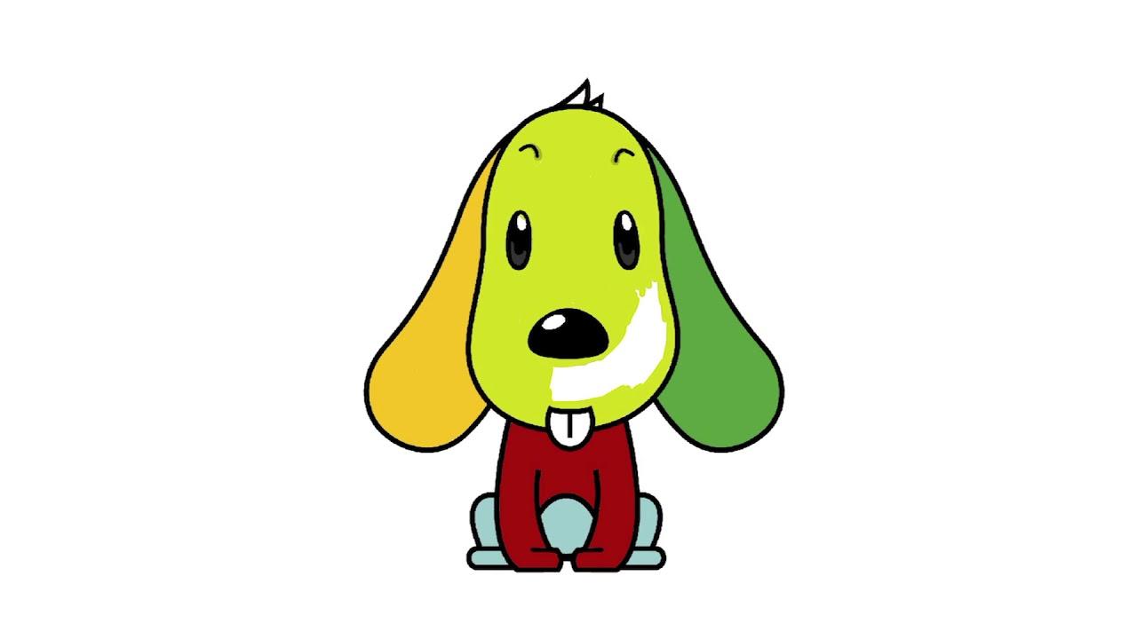 Köpek Boyama Köpek Boyama Videosu çocuklar Için çizim Youtube