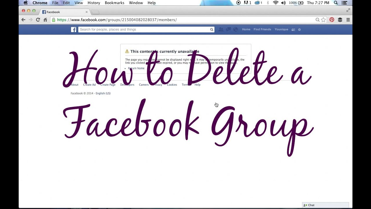 Younique business kit how to delete a facebook group youtube younique business kit how to delete a facebook group ccuart Image collections