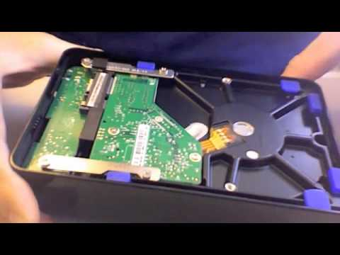 How to Open a Western Digital Elements External Hard Drive Enclosure