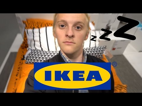 GÅR I SENG hos IKEA