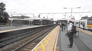 Trains at Shenfield station 27/9/14
