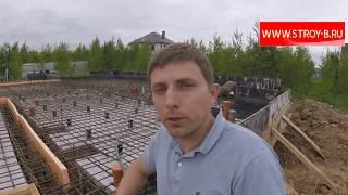 видео Столбчатый фундамент под ключ - цены, фото. Строительство столбчато-ростверковых фундаментов в Москве и МО.