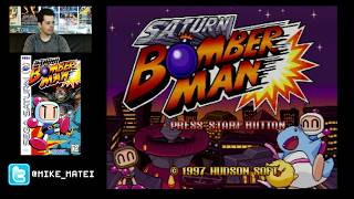 Saturn Bomberman (Sega Saturn) Part 1 - Cinemassacre Plays