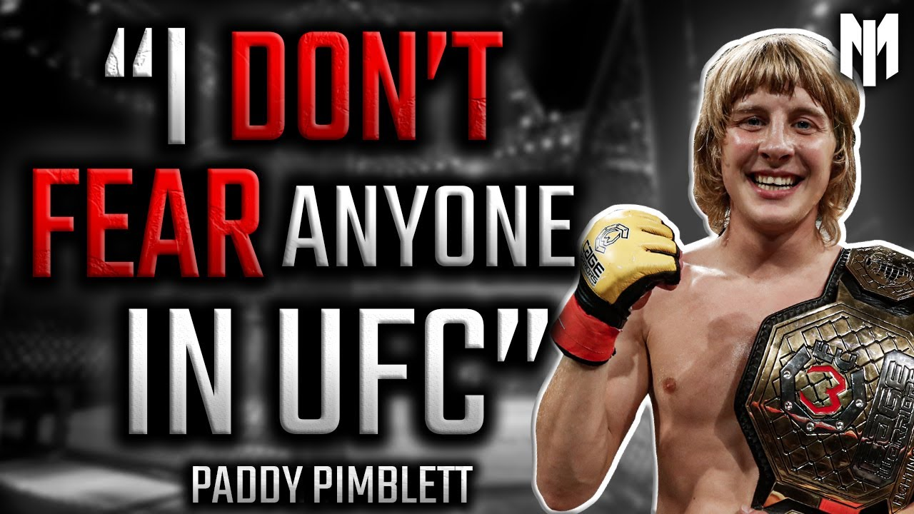Paddy Pimblett - I'm MORE than the NEXT Conor McGregor