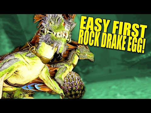 THE BEST WAY TO GET FIRST ROCK DRAKE EGG! (aberration Pvp) - Ark:Aberration - Ep.4
