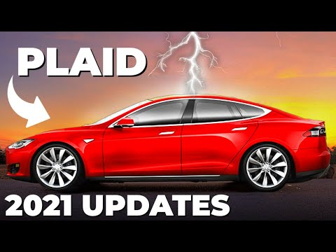Tesla Model S Plaid 2021 Is Finally HERE! (Insane NEW Features)