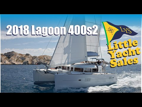 SOLD!!! 2018 Lagoon 400s2 Catamaran Sailboat for sale at Little Yacht Sales, Kemah Texas