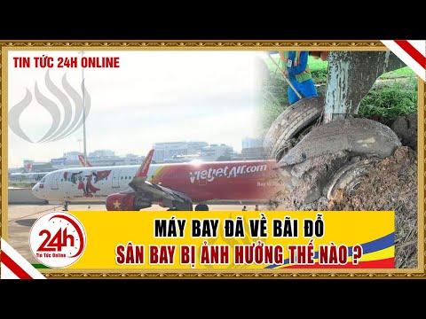 Cập Nhật Tin Máy bay VietJet trật đường băng, về bãi đỗ. Sân bay Tân Sân Nhất  bị ảnh hưởng thế nào
