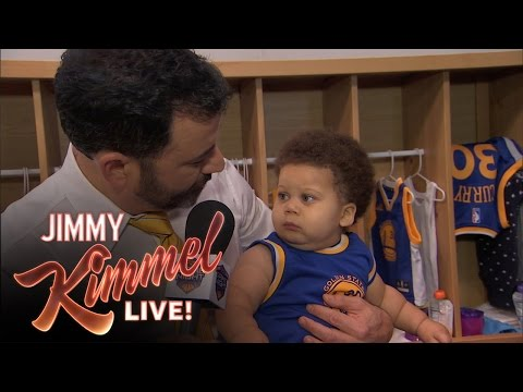 Thumbnail: Jimmy Kimmel Interviews Baby Steph Curry & Baby Lebron James