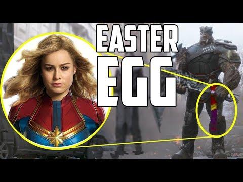 Captain Marvel Easter Egg in Avengers: Infinity War?