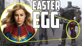 Captain Marvel Easter Egg in Avengers: Infinity War?