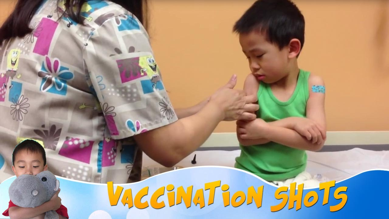 Prepare a child for school: a vaccination for a first-grader