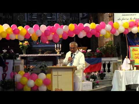 16th Anniversary Cote d'Azur Nice France Chapter - Healing Message: Bro. Philip Abot