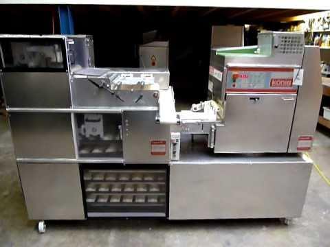 Konig Mini Rex G2000 Used Bakery Equipment Youtube