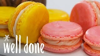 How to Make Easy Macarons | Desserts | Well Done