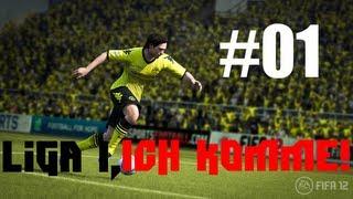 """#01   Fifa 12: Liga 1, Ich komme! (Division 1: Here I come) """"Alles hat ein Anfang nur die Wurst..."""""""