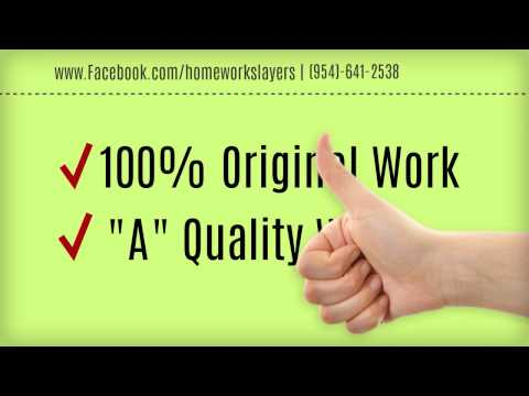 Affordable Homework and Writing Services