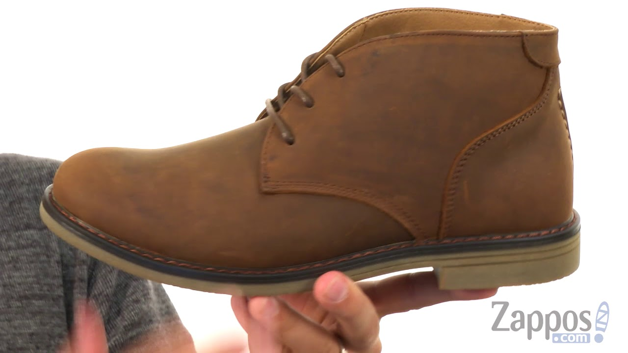 9140e2333a671 Nunn Bush Lancaster Plain Toe Chukka Boot SKU  8924409 - YouTube